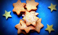 Biscuits de Noël au sarrasin et au gingembre