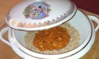 Sauté de dinde aux crevettes façon tikka massala