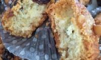 Les biscuits sablés aux pignons de pin, raisins et écorces d'orange