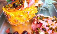 Jambon Virginia sur Ananas
