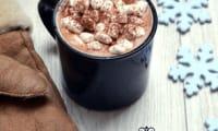 Chocolat chaud aux marshmallows