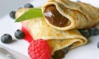 Pâte à crêpes gourmandes pour dessert sucré, suggestions d'arômes