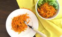 Salade carotte potiron ou citrouille à l'orange et au cumin