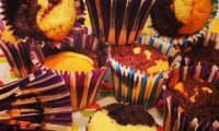 Muffins marbrés