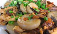 Champignons rôtis aux épices d'orient