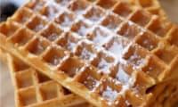 Gaufres express la farine intégrale et à la vanille