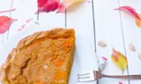 Tarte au potiron et à la carotte