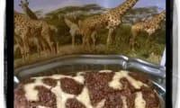 Gâteau Girafe