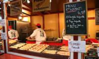 Baguettine alsacienne aux lardons et oignons