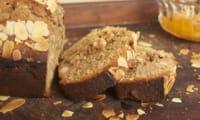 Cake à la farine de châtaigne et oranges confites