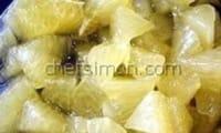 Lever des suprêmes de citron
