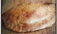 Chausson au porc et aux poireaux à la sauce d'huître