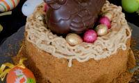 Le nid de Pâques aux spéculoos