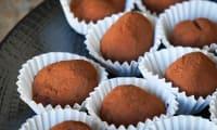 Truffes au chocolat gingembre et poivre