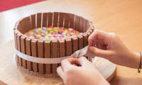 Le gâteau Kit Kat
