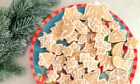 Sablés shortbread aux 4 épices décorés