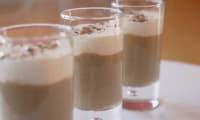 Cappuccino aux champignons et chantilly au lard