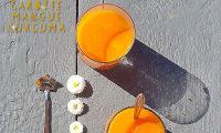 Smoothie carotte mangue curcuma