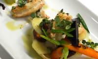 Tarte friande de langoustines