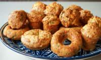 Muffins au bacon et au fromage