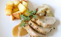 Filet mignon à la sariette, au thym et au romarin