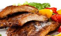 Travers de porc au barbecue
