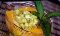 Tartare d'ananas gingembre