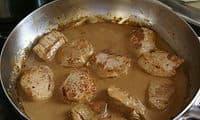 Filet mignon sauce poivre