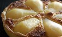 Tarte poires - amandes dite à la Bourdaloue