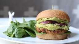 Burger vegan au double guacamole