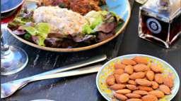 Comme un kebab...brochettes et aubergines