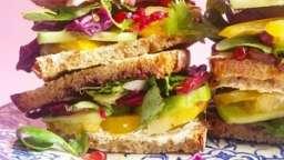 Club sandwich veggie