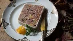 Terrine de faisan à la marjolaine