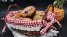 Muffins fruits rouges ou pépites de chocolat
