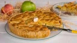 Tarte d'Yport pommes et amandes