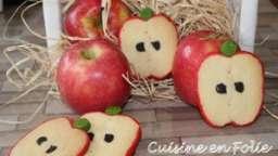 Sablés en forme de pomme