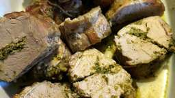 Filets mignons au pesto