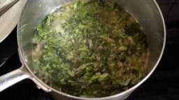 Salade cuite en chiffonnade