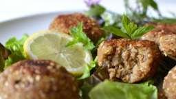 Falafels végétaux aux courgettes et sarrasin