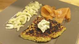 Röstis pommes de terre et céleri