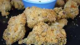 Poulet pané aux épices cajun