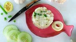 Tartare de marlin au couteau