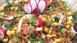 salade d'épeautre à la villageoise