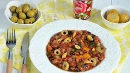 Ratatouille olives et citron confit