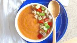 Gazpacho andalou traditionnel