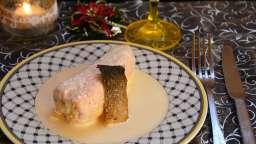 Ballotine de saumon, farce fine aux crevettes