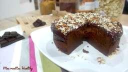 Pudding au cacao et patate douce