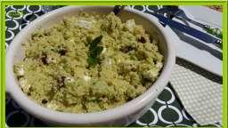 Taboulé de concombre, menthe et Feta