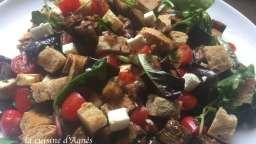 Salade d'aubergines à la feta