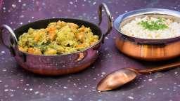 Curry de légumes à la pâte de noix de cajou